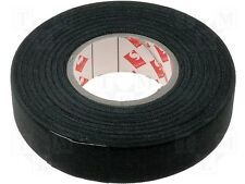 Black Rayon Fabric Insulating Wrapping Tape For Wiring Harness Looms Leads Small