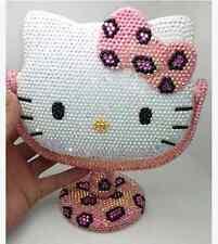Worldwide Shipping* Hello Kitty  Mirror Handmade Crystal  Shining 1pc