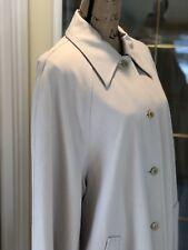Vintage J. Crew Floor Length Trench Coat, Elegant, Sz 10