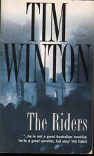 Tim Winton THE RIDERS (SOFTCOVER PAN) 2000 SC Book