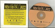 Best of Ken Burns Jazz CD 20 tracks EX condition US promo Louis Armstrong D
