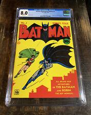 Batman Masterpiece Edition #1 CGC 8.0⭐️⭐️⭐️Reprint⭐️⭐️⭐️