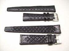 Vintage Rubber 1960s Watch Strap Band 20mm Tropic Type Perforated NOS Diver