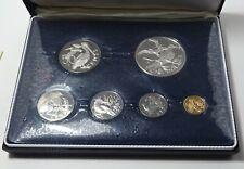 1974 British Virgin Islands Proof Set - Franklin Mint - Box & Coa