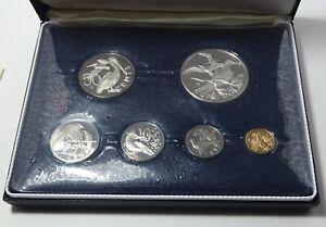 1974 British Virgin Islands Proof Set - Franklin Mint - Box & COA!