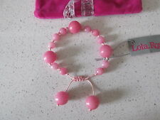 Lola Rose Pink  Bracelet & Pink Lola Rose Pouch    BNWT / NEW