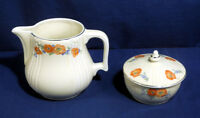 Vintage Hall Pottery Hall's Superior China Kitchenware Drip Jar + Large Pitcher