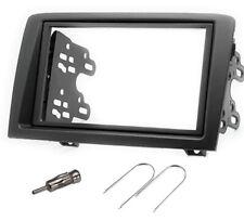 Kit autoradio 2 DIN per Fiat Idea grigio scuro 173 x 98 178x102