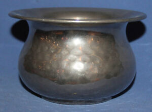 VINTAGE SILVER PLATED BOWL POT