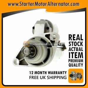 fits AUDI A3 SEAT IBIZA, VW GOLF 1.4-1.8 PETROL 2003-15 NEW STARTER MOTOR