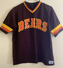 Bears Vintage Medalist Sand Knit Number 11 1980's Size Large Super Clean Retro