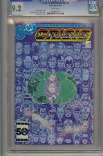 CRISIS ON INFINITE EARTHS #5 CGC 9.2 WHITE PAGES