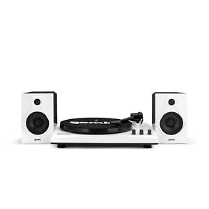 Gemini TT-900 Stereo Turntable System, Black and White