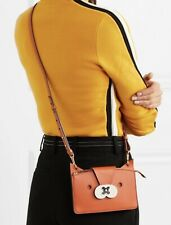 NWT ANYA HINDMARCH FOX CROSSBODY LEATHER CLUTCH BAG