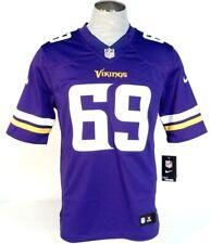 Nike Nfl Minnesota Vikings Allen 69 Purple Short Sleeve Football Jersey Mens Nwt