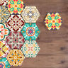10 PCS MOROCCAN SELF-ADHESIVE NON-SLIP BATHROOM KITCHEN FLOOR WALL TILE STICKER