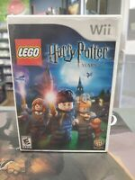 Lego Harry Potter Years 1-4 with Case and Cover Art Nintendo Wii -- S2G --