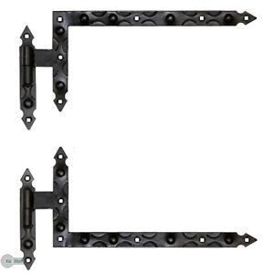 Winkelband Fensterladen Türband Torband 400 x 200 x30 + Kloben 12 Schmiedeeisen