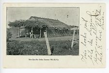 Meskwaki Indian Summer Camp RARE Antique UDB Cabin—Lake Ontario Area 1906