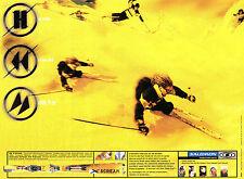 Publicité 1998  SALOMON ski  X - Scream  sport d'hiver neige