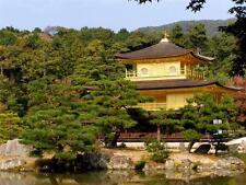 GOLDEN PAVILION GLOSSY POSTER PICTURE PHOTO kinkaku-ji temple zen japan 1144