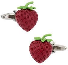 Strawberry Cufflinks Direct from Cuff-Daddy