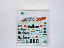 1/24 Porsche 956 Marlb0r0 82' 24hr LeMans Decal for Tamiya