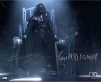 Hayden Christensen & Ian McDiarmid Star Wars Revenge of the Sith Signed 8x10 Pic
