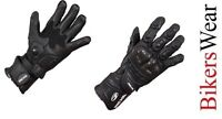 Richa Fire/Track Glove Black Motorcycle/Motorbike Racing/Touring Glove