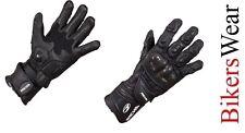 Richa Fire/Track Glove Black Motorcycle/Motorbike Racing/Touring Glove