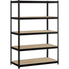 Garage Heavy Duty Shelf Steel Metal Storage 5 Level Adjustable Shelves 4'x2'x6'