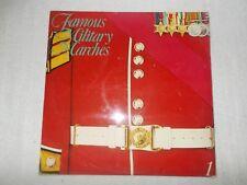 LP 12 inch LP Record Album  - Famous Military Marches