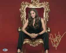 STEPHANIE MCMAHON SIGNED AUTO WWE 11X14 PHOTO BAS BECKETT COA 1