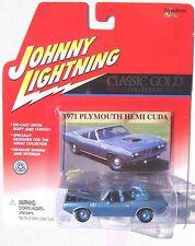 JOHNNY LIGHTNING R11 CLASSIC GOLD 1971 PLYMOUTH HEMI CUDA CONVERTIBLE #100