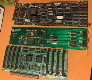 Commodore Amiga 2000 3000 4000   (3)  ZORRO CARDS  SCSI, RAM, SERIAL Rare Find!
