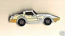 Automotive collectibles - 1973 Chevrolet Corvette tac style pin