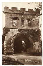Tewkesbury Abbey - Gateway Photo Postcard c1910