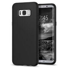 Galaxy S8 Case Genuine Spigen Ultra Slim Liquid Crystal Soft Cover for Samsung Black