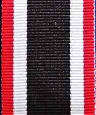 WW2 NAZI GERMANY WAR MERIT CROSS MEDAL RIBBON FOR MOUNTING & REPLACEMENT