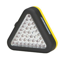 MAXCRAFT 60196 39-LED Triangle Worklight and Red Emergency Light with batteries