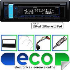 Vauxhall CORSA KIT di montaggio con JVC CAR CD MP3 STEREO RDS SINTONIZZATORE AUX USB IPHONE