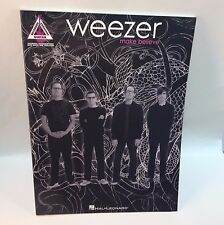 Weezer Music Book Make Believe Guitar Tablature 2005 Vocals