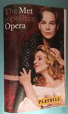 2017 Metropolitan Opera New Production Playbill Der Rosenkavalier Renee Fleming