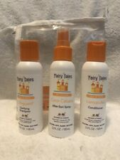 Fairy Tales Sun & Swim, Clarifying Shampoo, Conditioner, After Sun Spray 3.3 oz