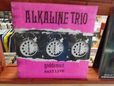 Alkaline Trio Goddamnit Past Live LP NEW NEON PINK Colored vinyl