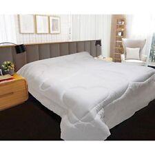 Draps blancs en polyester pour le lit 200 cm x 200 cm