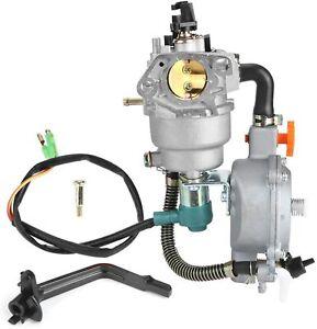 Dual Fuel Propane/Gasoline Carburetor for Honda 188F 190F GX340 GX390 GX420