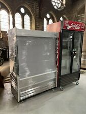 More details for williams gem dispaly fridge with shutter on wheels