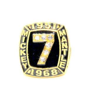 MICKEY MANTLE (2) 1951-1968 MLB Championship rings