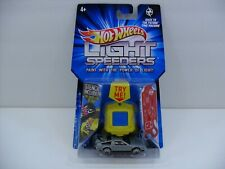 "2011 Hot Wheels Light Speeders ""Back to the Future"" Delorean Time Machine Car"